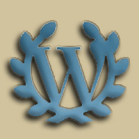 Fifth Anniversary Word Press pin