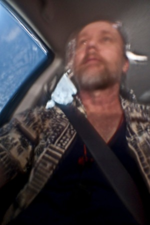 60 second self portrait while driving through Arkansas on a Sunday evening.