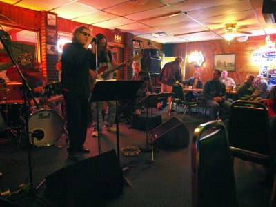 The Unexpected played Harlows a popular Springfield watering hole for good local music.