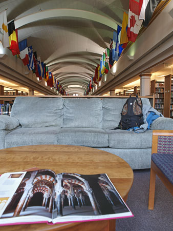 at the Drury University Library