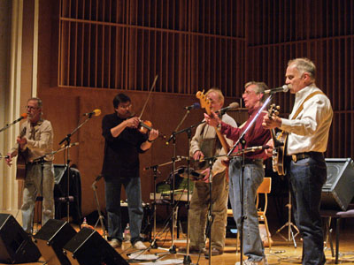The Undergrass Boys played at the Clara Thompson Hall on the Drury University campus. The Undergrass Boys play traditional bluegrass, original tunes and Beatlegrass.