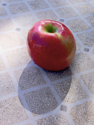 A York apple