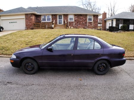 I would like to introduce to you, my new $500 GEO Prizm. The Prizm is stylishly bland but a it is reliable vehicle.
