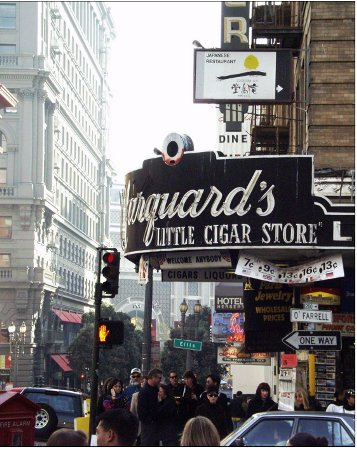 Minguards's little Cigar Store