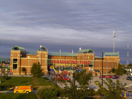Hammonds Field is the home of the Springfield Cardinals, the double A team of the St Louis Cardinals.