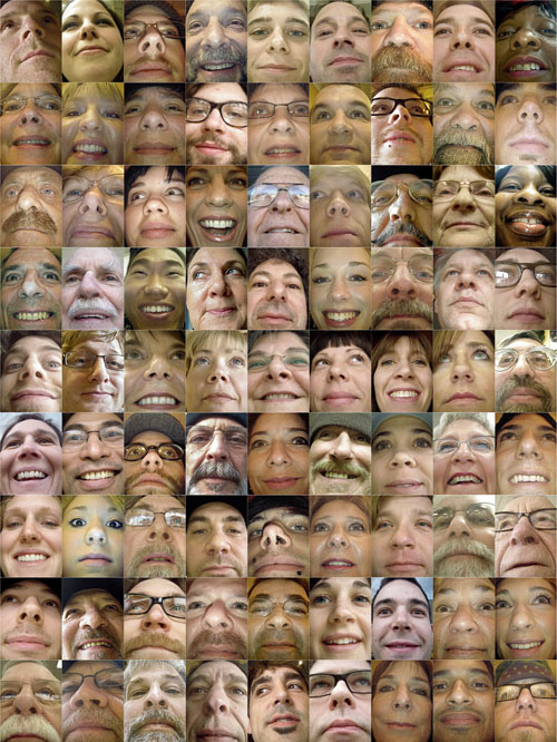 81 heads on a page