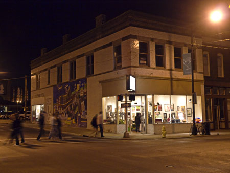 Springfieldians came out and strolled downtown during last nights First Friday Artwalk