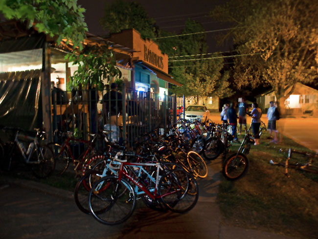 The 420 Bicycle Pub Crawl is a good excuse to convene and ride our bicycles