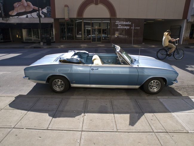 A Corvair Corsa convertible, Sprint by Fitch custom
