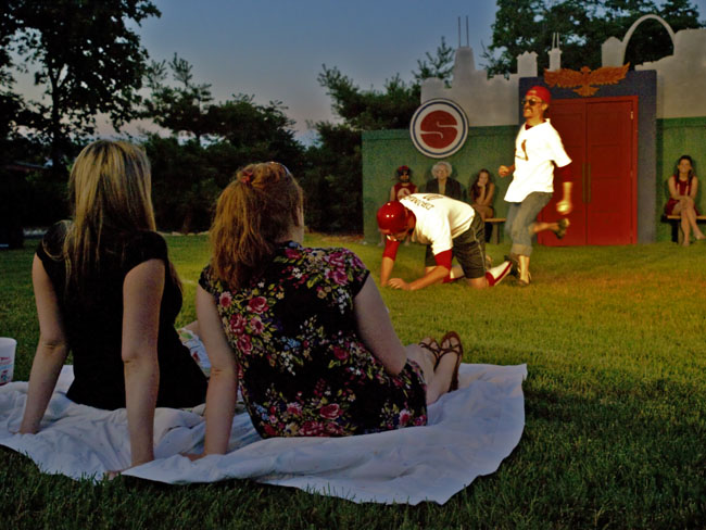 This is is the last weekend for A Comedy of Errors in Jordan Valley Park