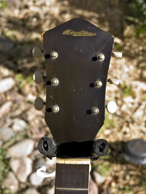 The Marveltone headstock
