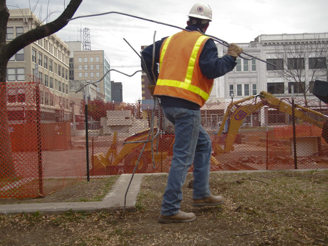 Restoring the Park Central Square to Lawrence Halprin's original plans