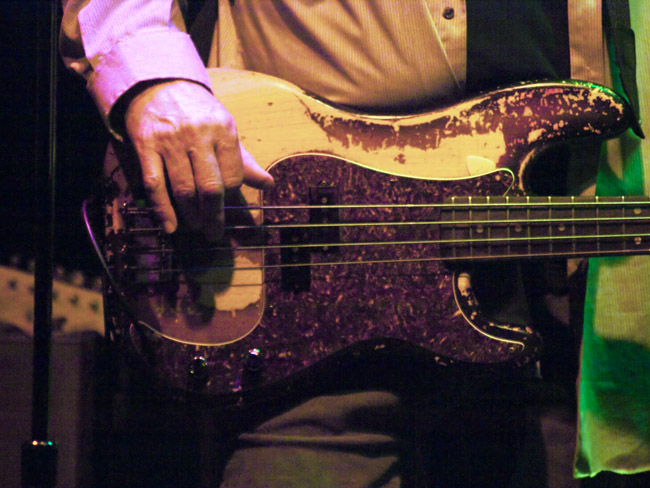 Can you name this amazing bassist and astounding sound engineer?