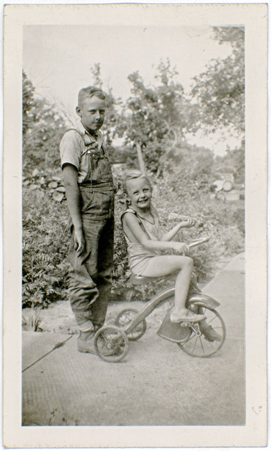 My mother's first cousins Billy and Mary Jean Guidinger