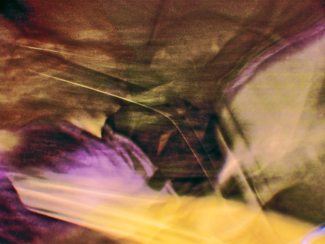A time exposure while driving around the southwest corner of Springfield, MO. Mark Phillips the ghost in the machine.