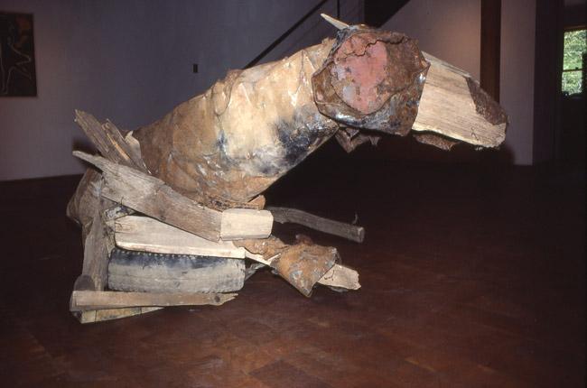 Deborah Butterfield's Reclining Horse