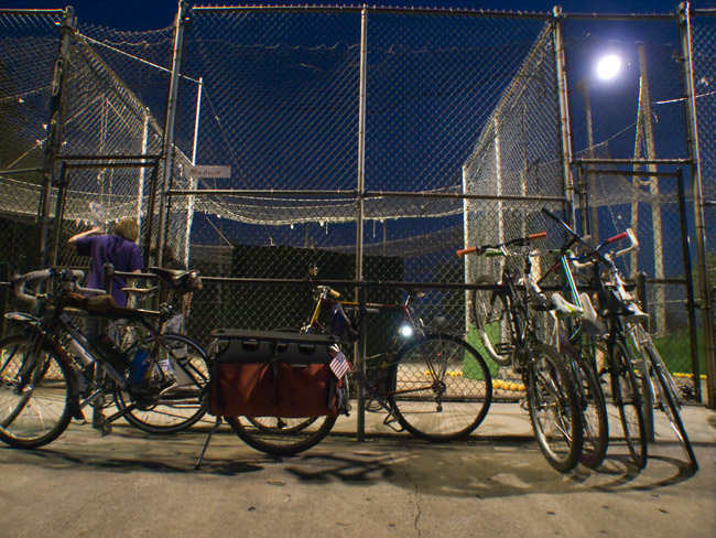 Bicycles and Batting Cages