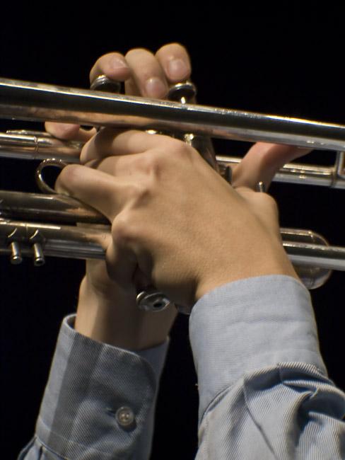 Still-life with trumpet