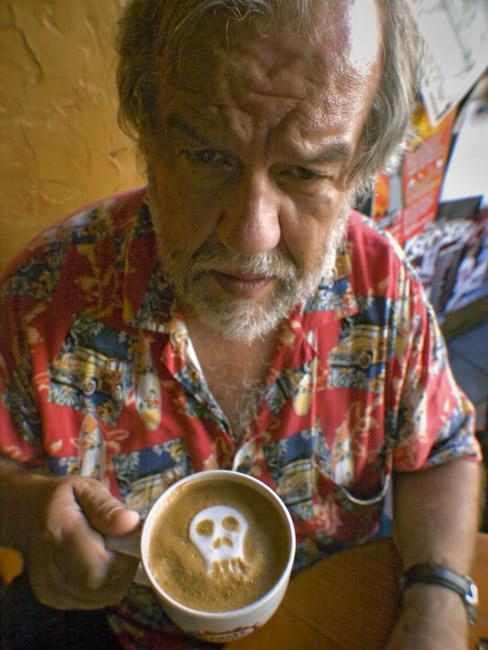 A portrait of Tony Toste