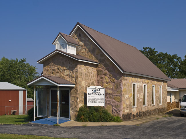 The Viola Baptist church