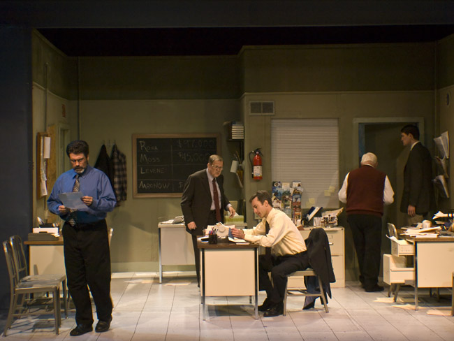Treat yourself to a provocative night out, go see Glengarry Glen Ross at the Vandivort