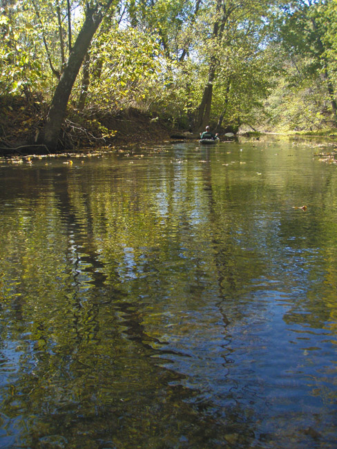 Sunday on the Finley River. Wish you were there.