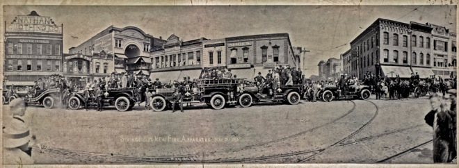 Springfield's New Fire Apparatus   May 10,1913