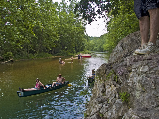 Summer on the River, circa 2008