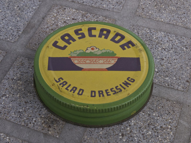 Does anyone remember Cascade Salad Dressing, circa 1949