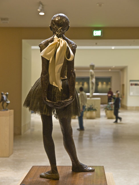The Little Fourteen-Year-Old Dancer; cast in 1922 from a mixed-media sculpture modeled ca. 1879–80