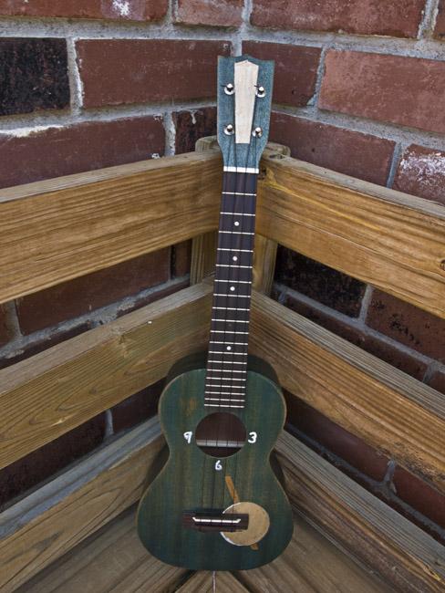 The Time Keeper a concert ukulele