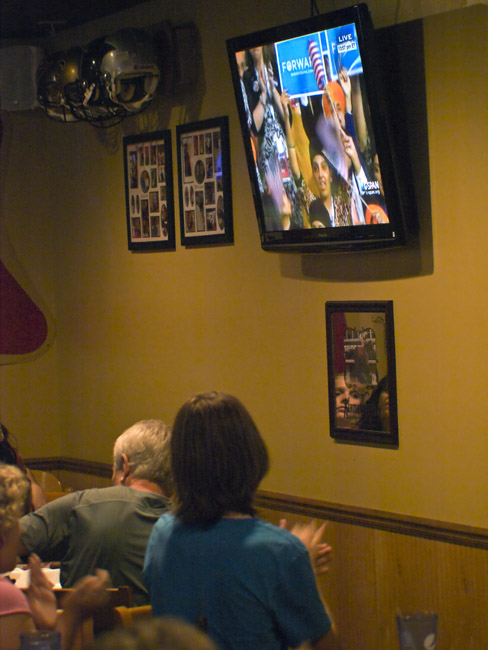 Last night's 2012 Democratic Campaign Watch Party