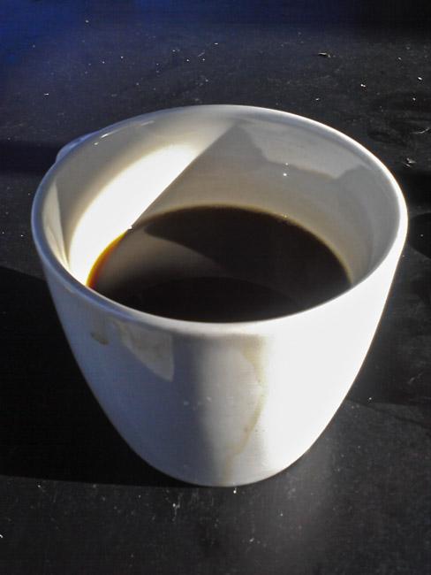 Tuesday morning coffee with Bruce Wayne