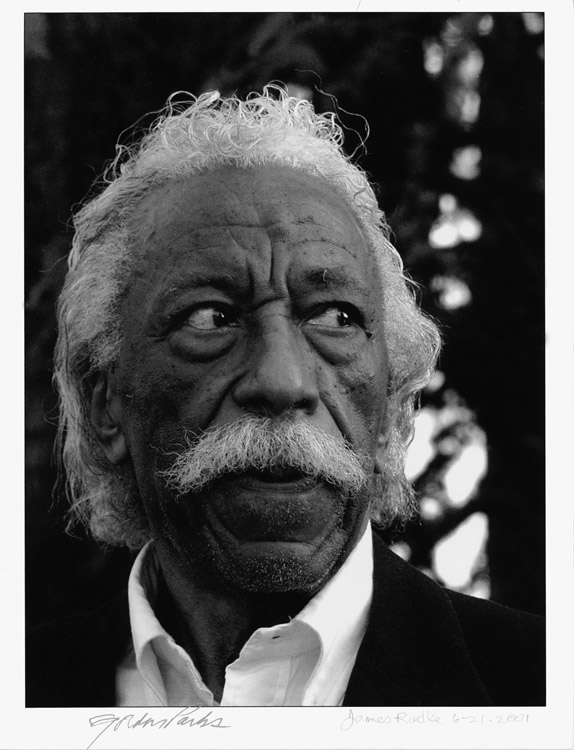 Today would have been Gordon Parks 100th Birthday. Gordon Parks spoke about his photographs at the Oakland Museum, circa 2001
