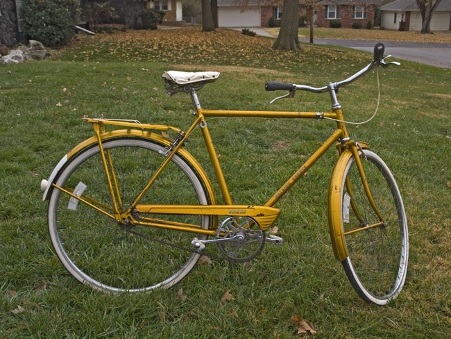 Raleigh Sports, All Gold Edition 1969