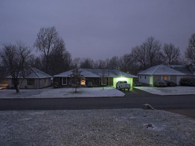 The last snowstorm of 2012, December 28, 2012
