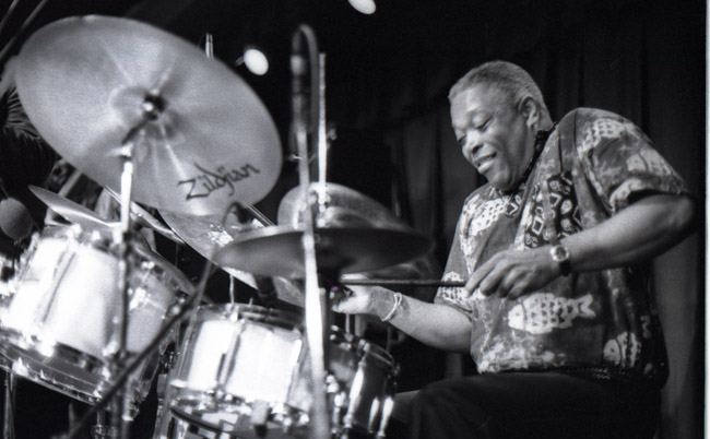 Can you hear the brushwork on Billy Hart's drums? circa 1993