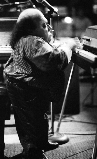 Michel Pettruciani played a Fender Rhodes piano at Kimball's West in San Francisco, circa 1993