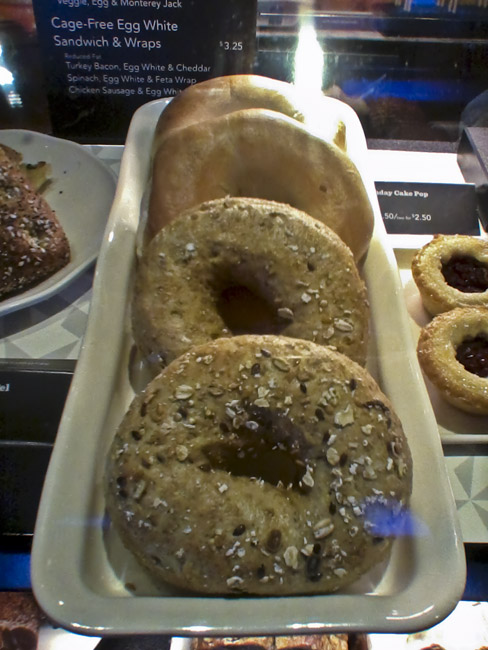 Bagels, a photographic homage to Wayne Theibaud