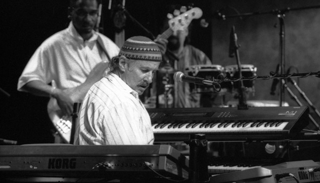 Joe Zawinul with the LA Syndicate at Yoshi's - Oakland, circa 1996