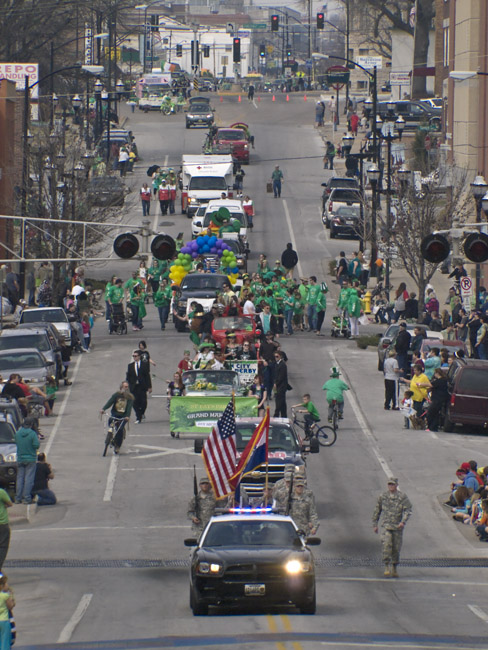 The 2013 Springfield, Missouri Saint Patrick's Parade