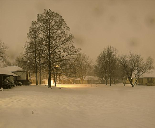 21:00 hrs, Spring Snowstorm