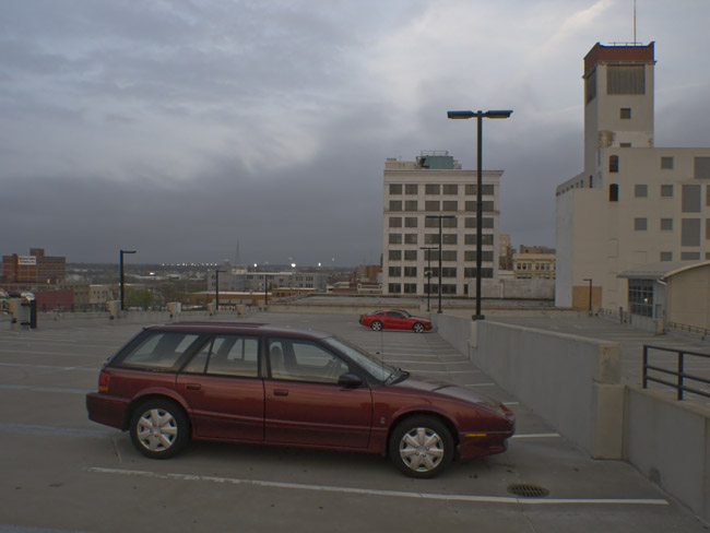 Parking Lot, Saturn