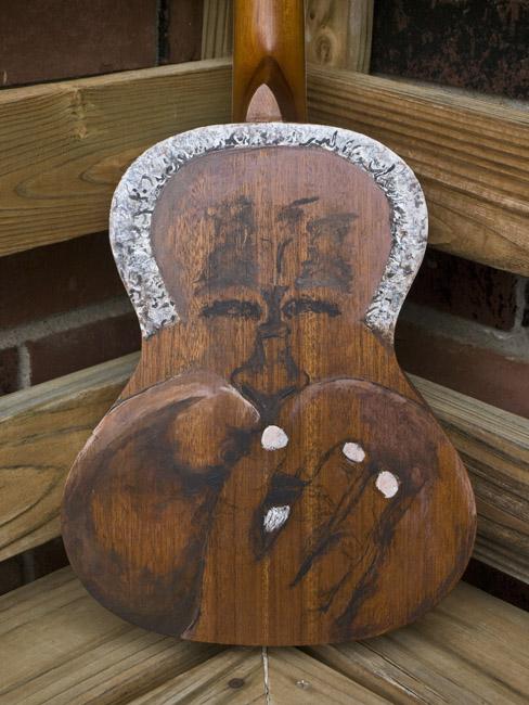 The Dizzy uke, stage 1