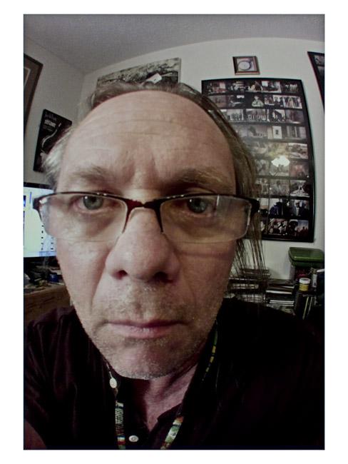 My Little Cyclops Self-Portrait, September 30, 2013