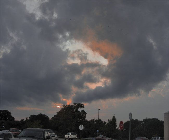 Five more days of rain forecasted, the sun might peek through