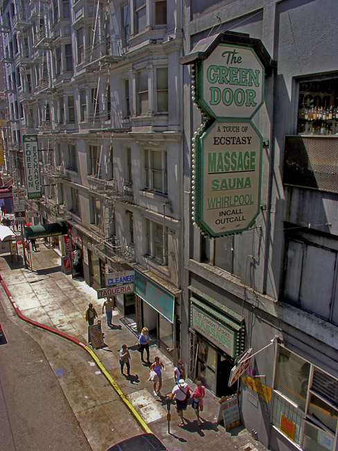 The Green Door, San Francisco, circa 2001