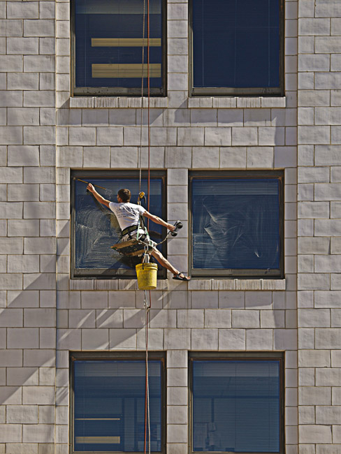 Dreaming of a summer day, The Window Washer, circa 2008