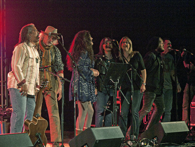 The Hey Jude Chorus; Vic Vaughan, Steven Spencer, Julia Butler, Natalie Butler, Michelle Duncan West, Shannon Stine, (?) and Yankton Southern