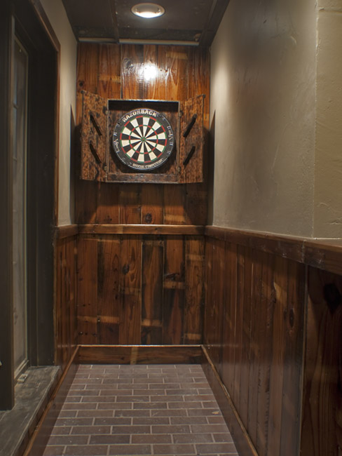 The Dart Room at the Farmer's Gastro Pub in the Brentwood Center